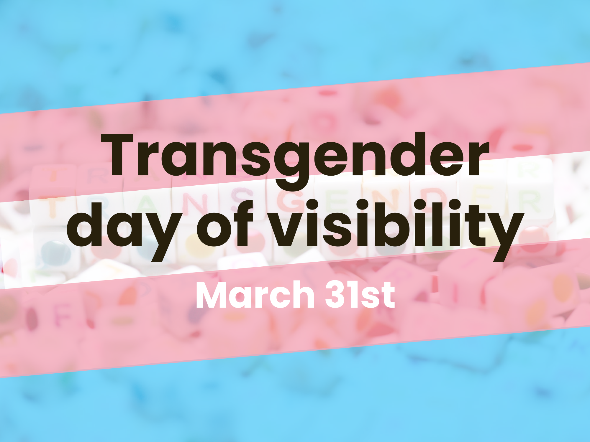 Montreal Careers | Why international day of trans visibility is important
